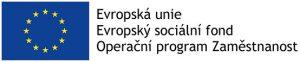 Logo EU a projektu Kvalita a partnerství v zájmu soc. služeb pro osoby se zrakovým postižením